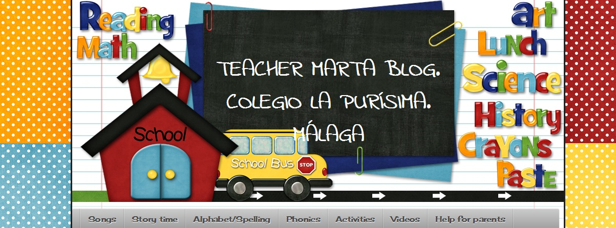 Teacher Marta Blog