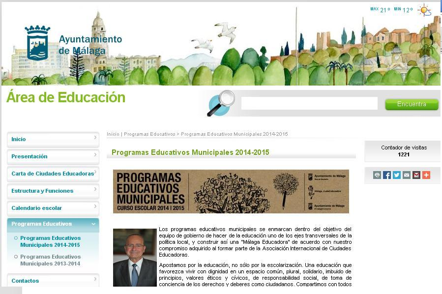 Programa Educativo Municipal 2014-15
